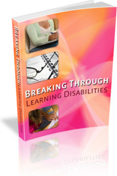 Ebook cover: Breaking Through Learning Disabilities