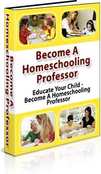 Ebook cover: Professor Homeschool