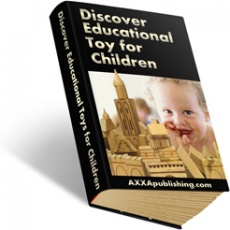 Ebook cover: Discover Educational Toys for Children