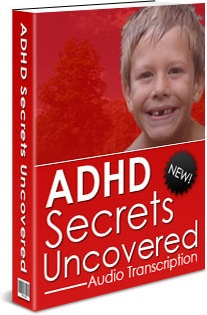 Ebook cover: ADHD Secrets Uncovered