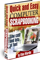 Ebook cover: Quick and Easy Computer Scrapbooking