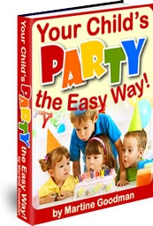 Ebook cover: Your Child's Party - The Easy Way