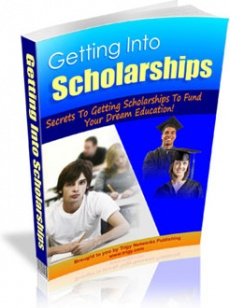Ebook cover: Getting Into Scholarships