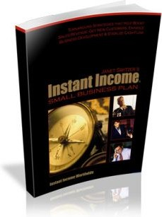 Ebook cover: Instant Income Small Business Plan