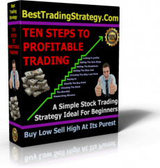 Ebook cover: Ten Steps To Profitable Trading