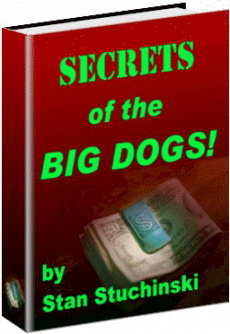 Ebook cover: SECRETS OF THE BIG DOGS!...