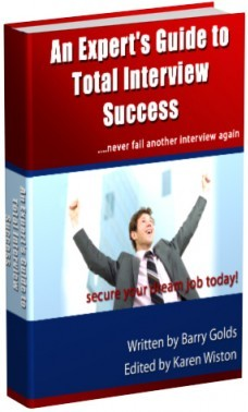 Ebook cover: An Experts Guide to Total Interview Succcess