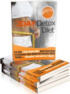 Ebook cover: 2 Day Detox Diet