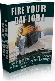 Ebook cover: Fire Your Day Job!