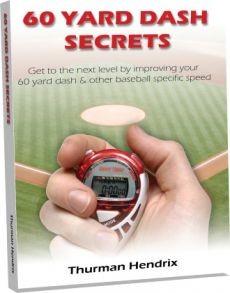 Ebook cover: 60 Yard Dash Secrets