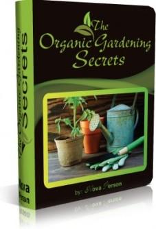 Ebook cover: The Organic Gardening Secrets