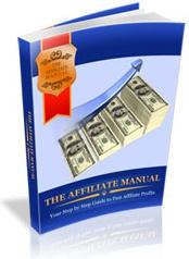Ebook cover: The Affiliate Manual & Marketing Tool Kit