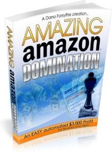 Ebook cover: Amazing Amazon Domination