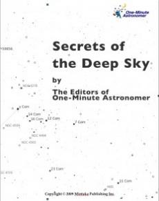 Ebook cover: Secrets of The Deep Sky