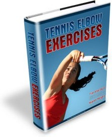 Ebook cover: 5 Minute Tennis Elbow Pain Cure