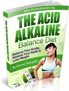 Ebook cover: The Alkaline Diet Course