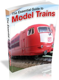 Ebook cover: Model Trains