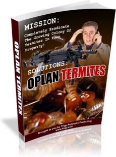 Ebook cover: OPlanTermites