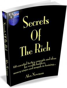 Ebook cover: 60 Secrets Of Wealth