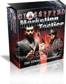 Ebook cover: Classified Marketing Tactics