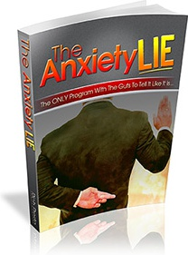 Ebook cover: Anxiety Lie