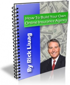 Ebook cover: How To Build Your Own Online Insurance Agency