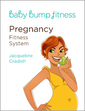 Ebook cover: Baby Bump Pregnancy Fitness System