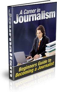 Ebook cover: Career In Journalism