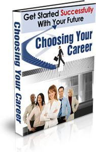 Ebook cover: Choosing Your Career