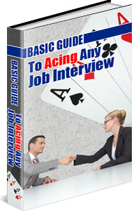 Ebook cover: Guide To Acing ANY Job Interview