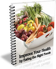 Ebook cover: Improve Your Health By Eating The Right Foods