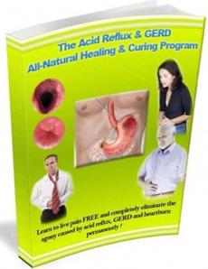 Ebook cover: The Acid Reflux & GERD All-Natural Healing & Curing Program