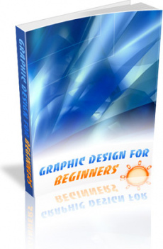Ebook cover: Graphic Design for Beginners