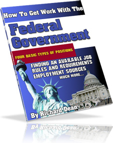 Ebook cover: How To Find WORK WITH THE FEDERAL GOVERNMENT