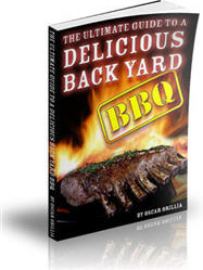 Ebook cover: The Ultimate Guide to a Delicious Backyard BBQ