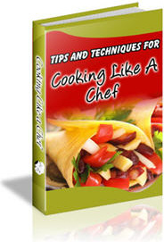 Ebook cover: Cooking Like a Chef