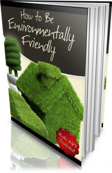 Ebook cover: How to be Environmentally Friendly