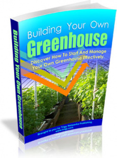Ebook cover: Building Your Own Greenhouse 2