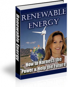 Ebook cover: Renewable Energy: How to Harness the Power and Help the Future