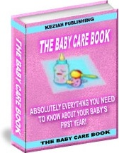 Ebook cover: Baby Care Book
