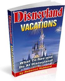 Ebook cover: Disneyland Vacations