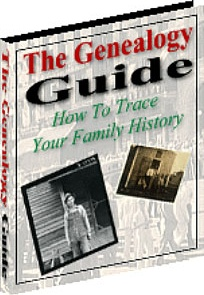 Ebook cover: The Genealogy Guide