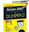 Ebook cover: Microsoft Office Access 2007 All-in-One Desk Reference For Dummies