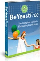 Ebook cover: Be Yeast Free