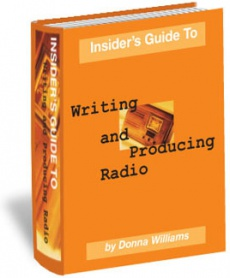 Ebook cover: Insiders Guide to Writing and Producing Radio