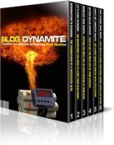 Ebook cover: Blog Dynamite