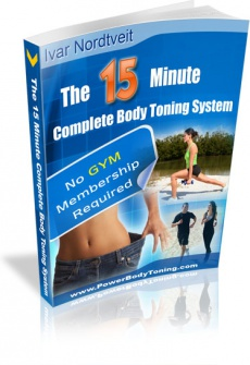 Ebook cover: The 15 Minute Complete Body Toning System
