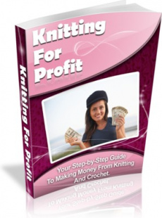 Ebook cover: Knitting For Profit