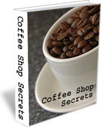 Ebook cover: Coffee Shop Secrets