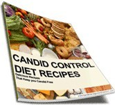 Ebook cover: Candida Control Diet